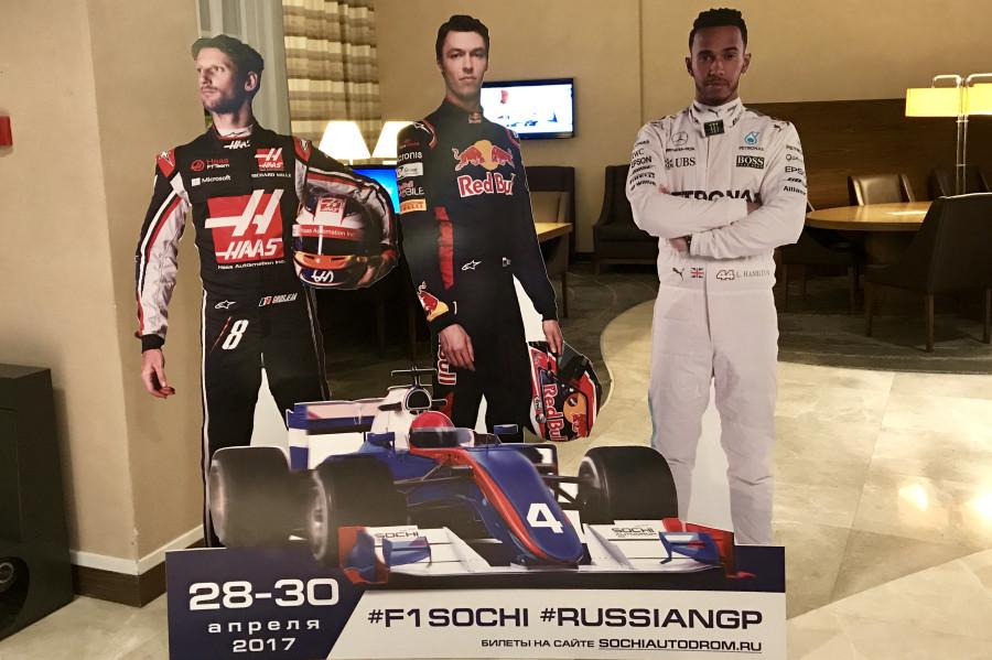 Формула 1 в Сочи. Что осталось за кадром телекамер