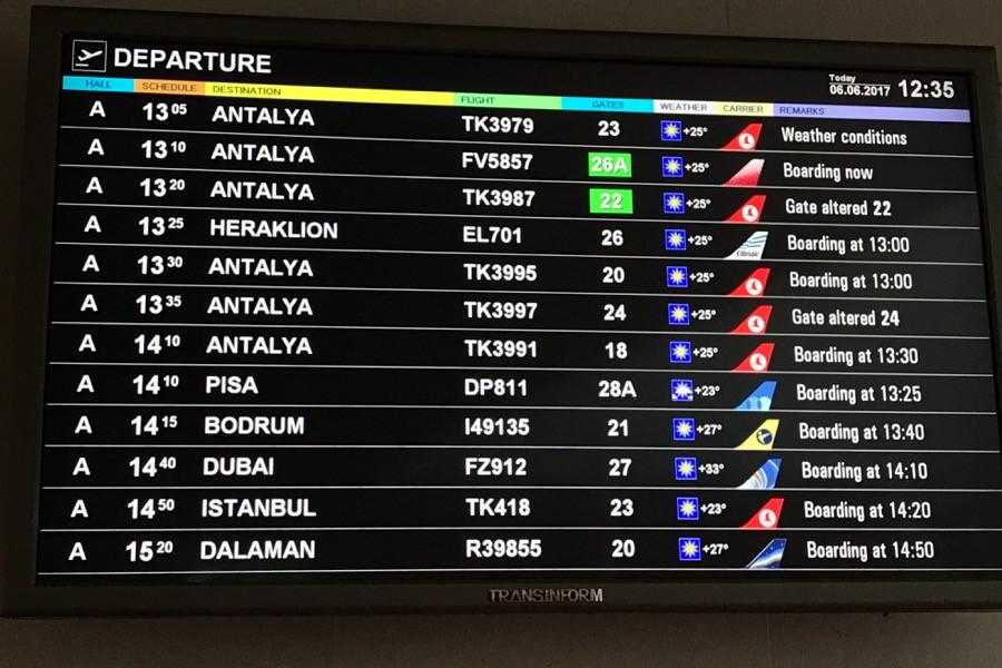 Наташи выбирают Турцию