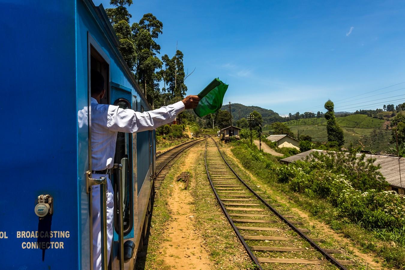 Шри-Ланка. Часть 3. Поездатый чай. фото
