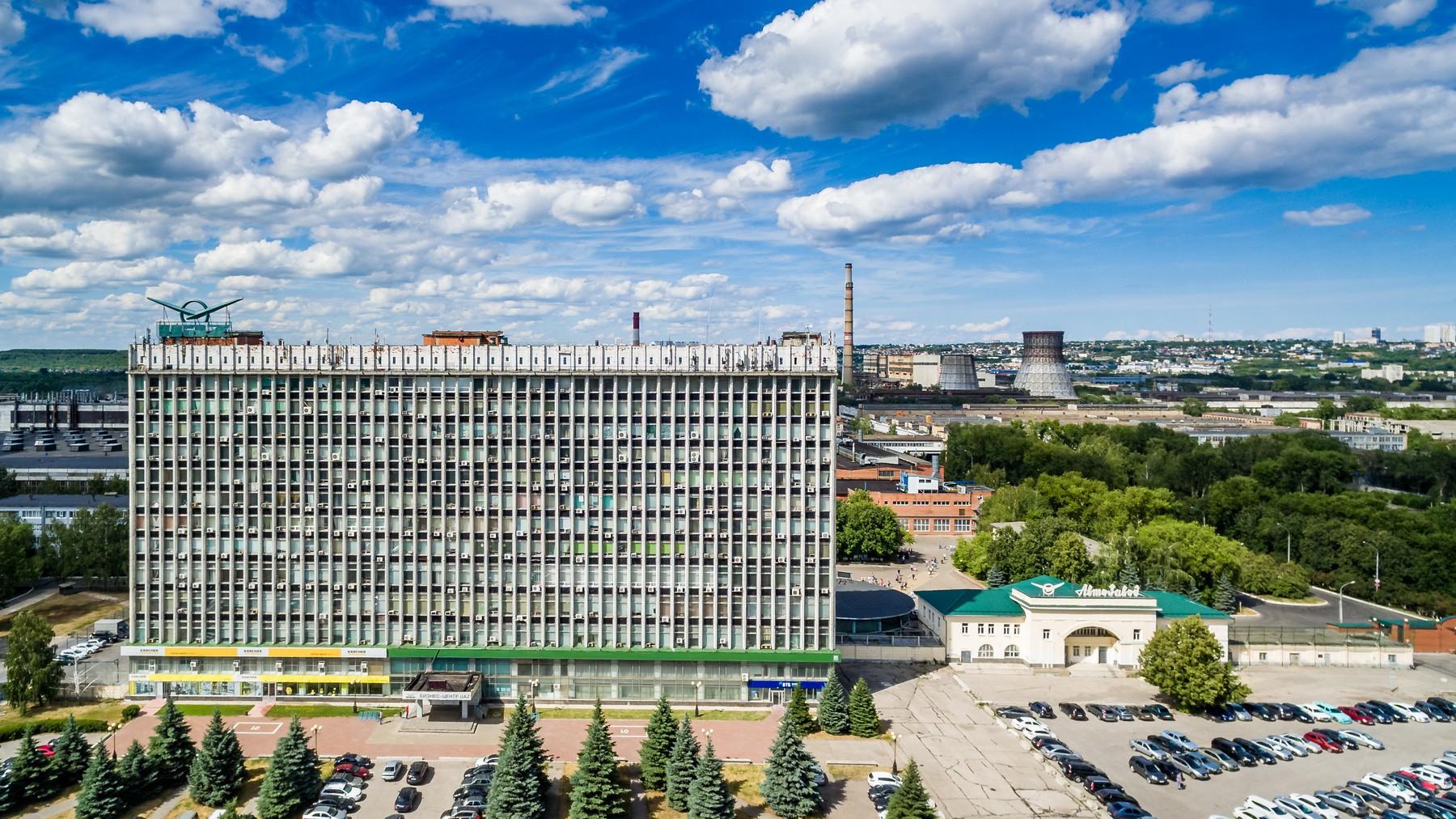 Ульяновск с высоты. Железнодорожный и Засвияжский район. Июль 2018 город как на ладони