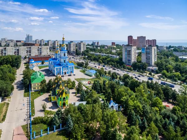Ульяновск с высоты. Июль 2018.