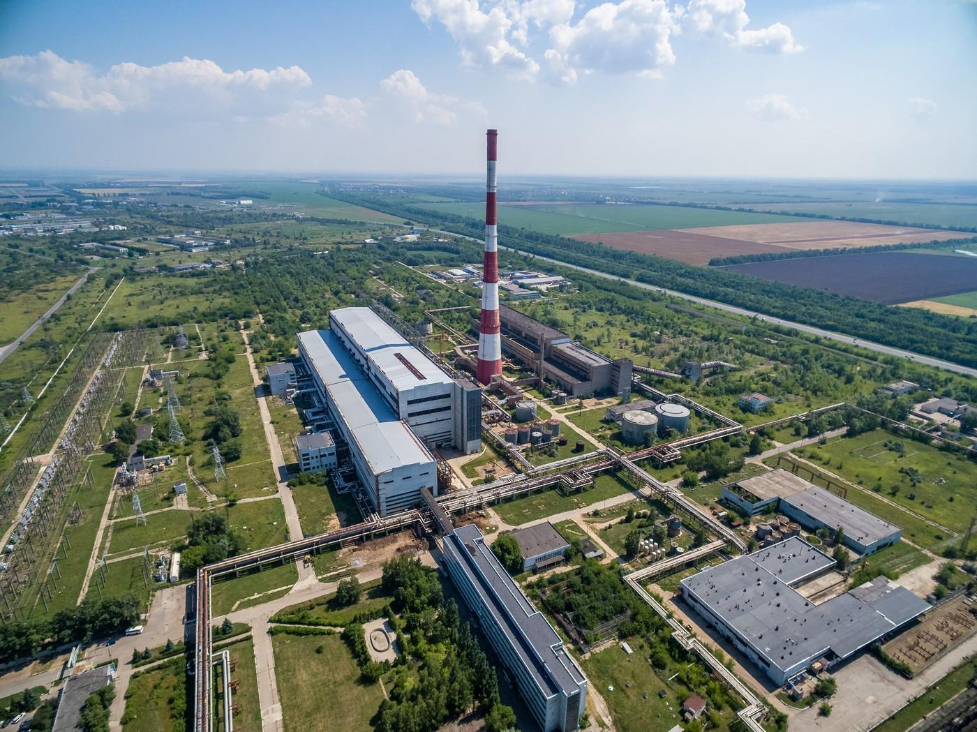 Промышленность Ульяновска с высоты. Июль 2018
