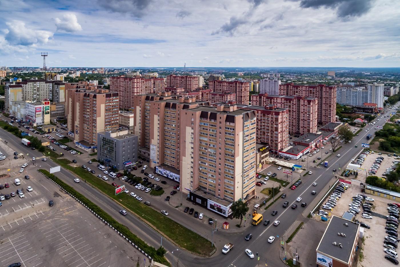 Самара с высоты, лето 2018. Часть 1(Пасмурная). город как на ладони