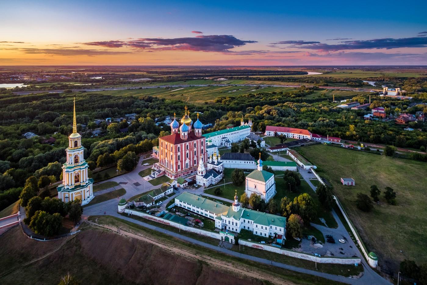 фото рязанского кремля вот самом