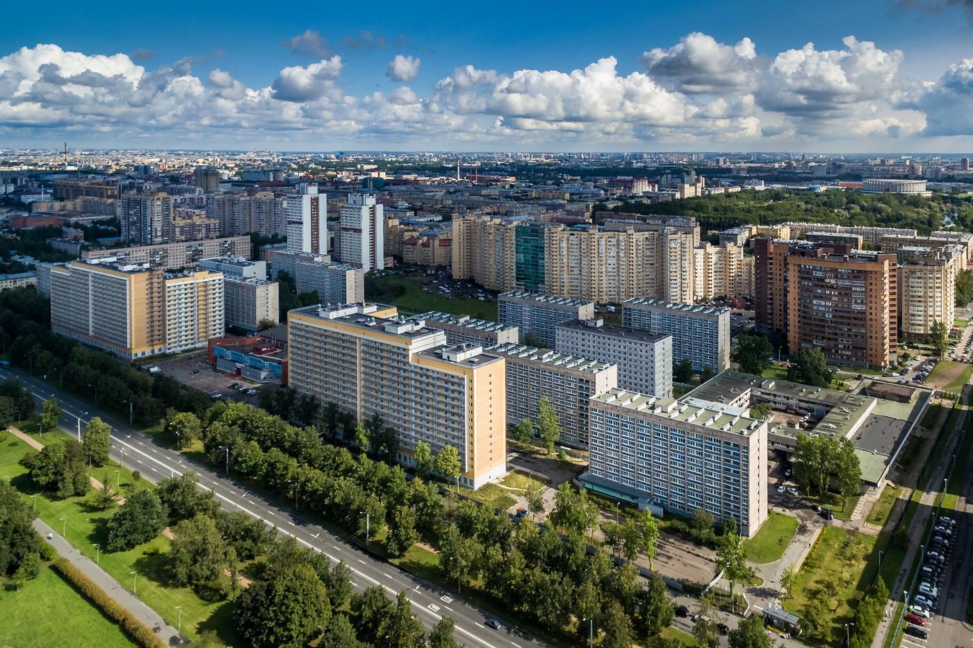 Студенческий городок в санкт петербурге фото