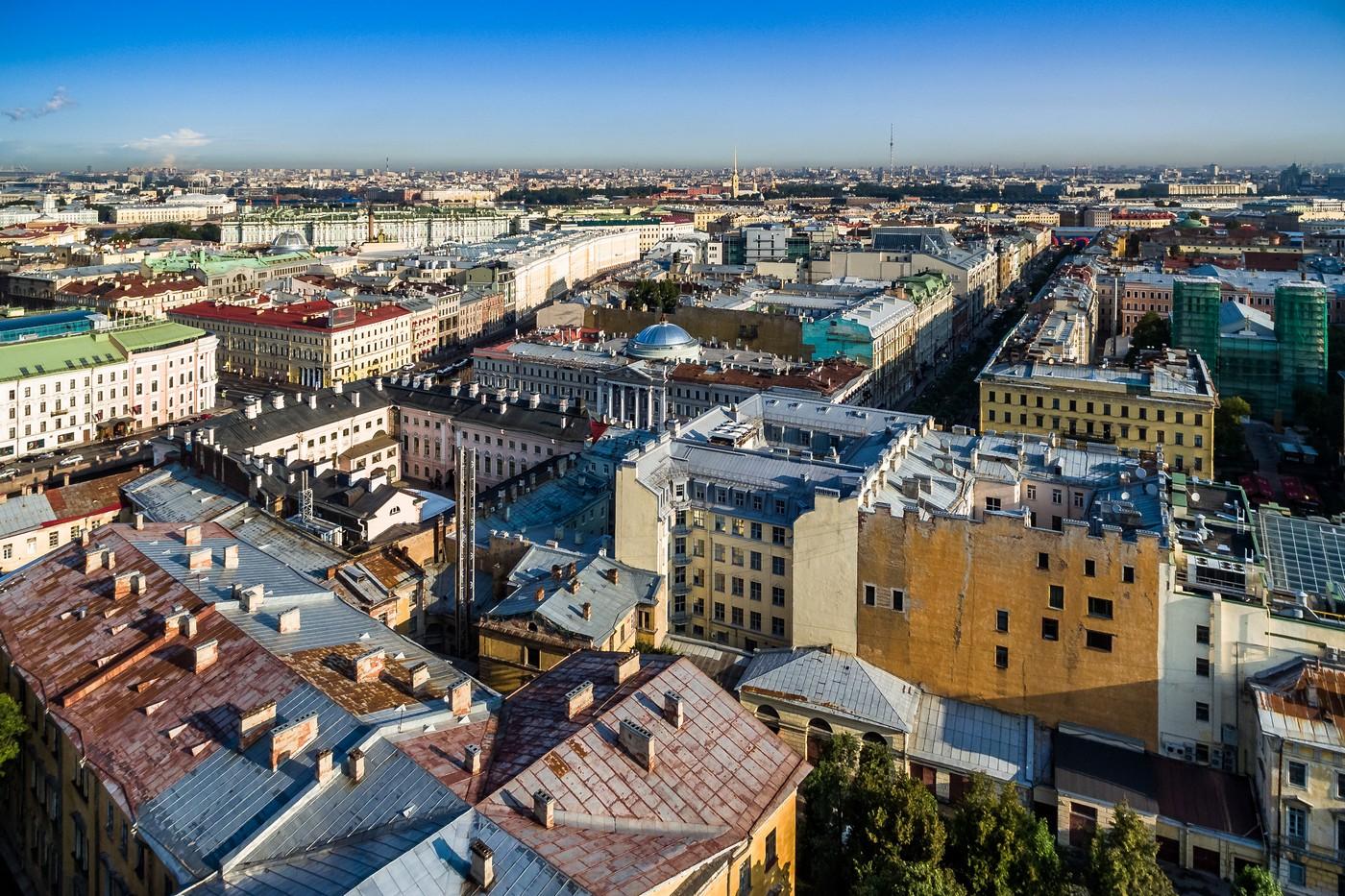 Санкт-Петербург с высоты(и не только). Лето 2018.