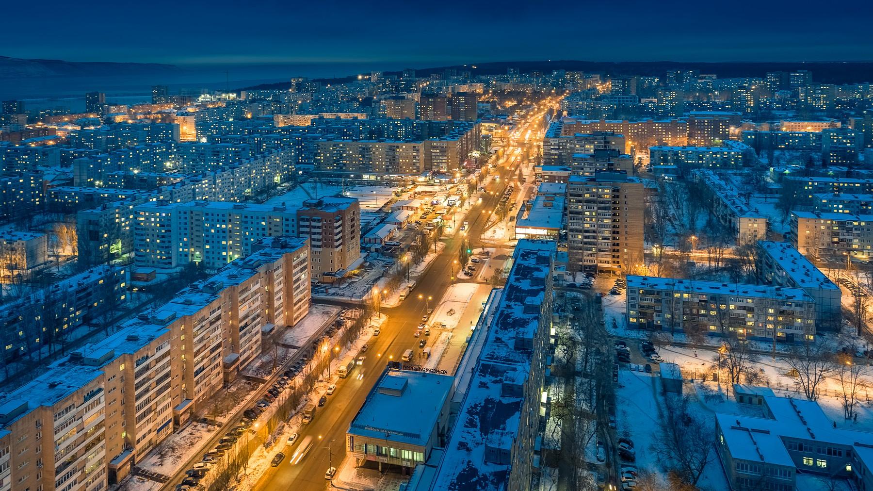 Фотографии ночного тольятти