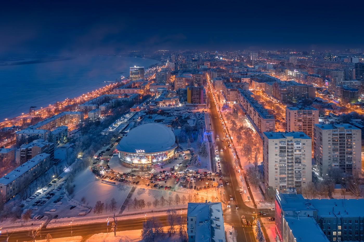 Зимняя самара картинки
