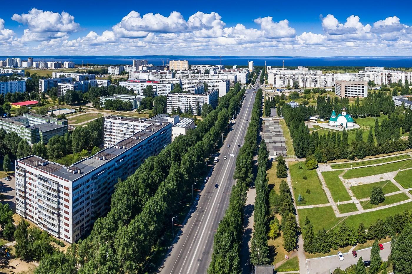 Фото нового города ульяновска