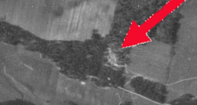 Воздушный снимок Медного, 1942 год  44917_original