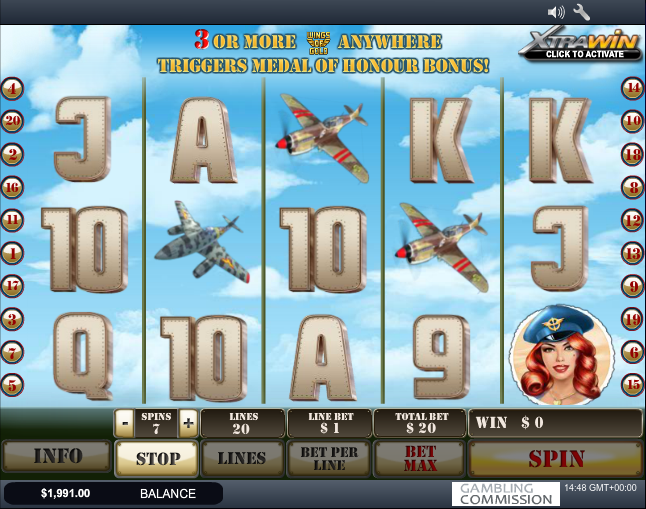 wings of gold slot regular game