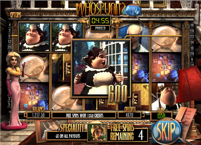 mystery at the mansion slot free spins
