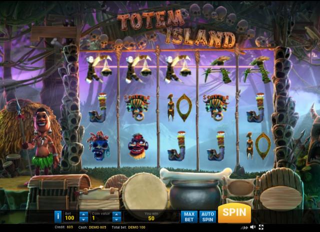 totem islands игровой автомат бесплатно