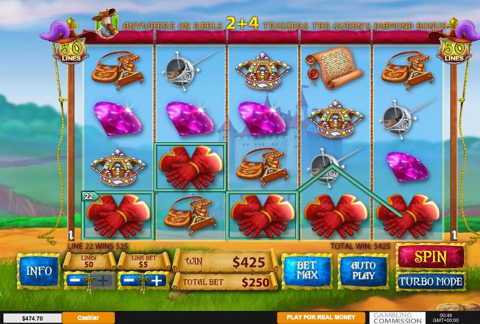 игровой слот три мушкетера бесплатно в онлайн-казино