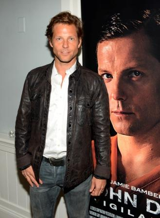 D6-C1. Actor Jamie Bamber attends the American Film Market