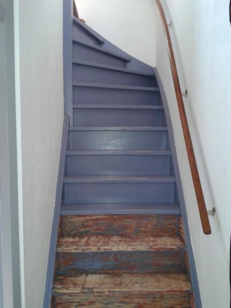 Zegnooitnooit - De trap van de bistro ...