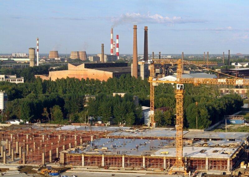 Виды Челябинска, август 2013