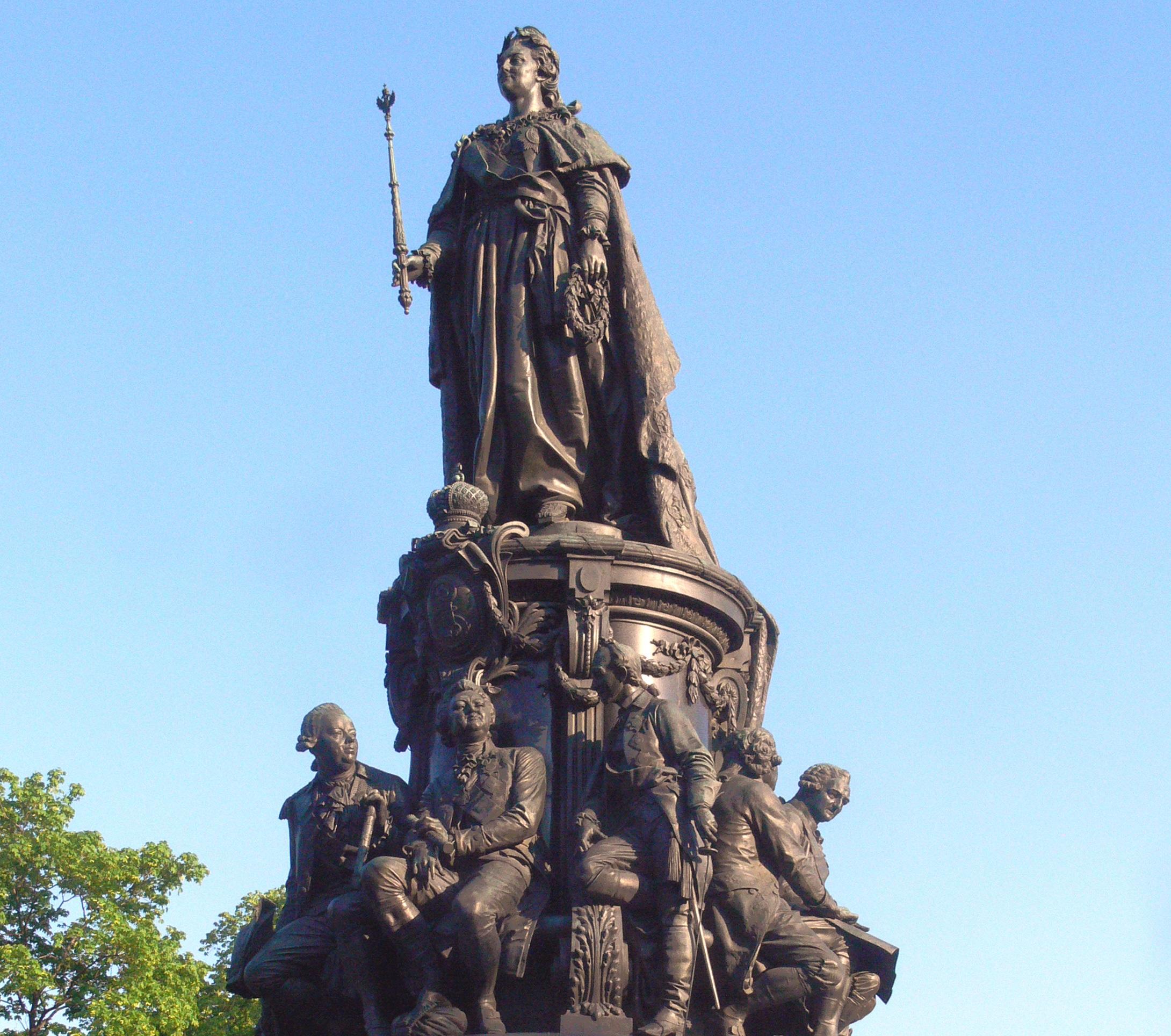 Памятник Екатерине II в СПб