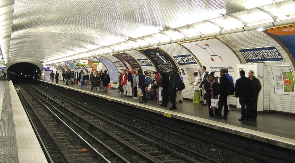 Станция метро Робеспьер