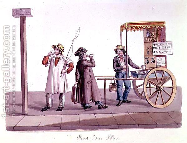 Root-Beer-Seller,-C.1840