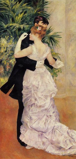 Pierre Auguste Renoir. Danse à la ville