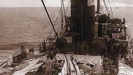 По пути в Палестину. 1940 год