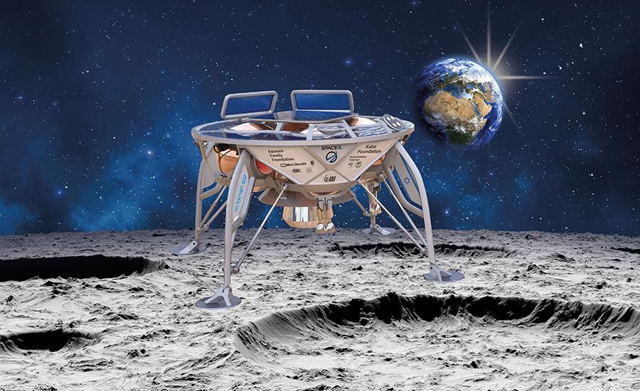 Израильский зонд летит на Луну