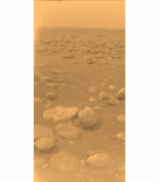 Галька на Титане