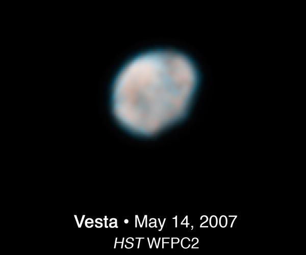 Vesta Hubble