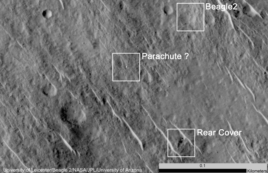 Beagle-2_and_components_on_Mars