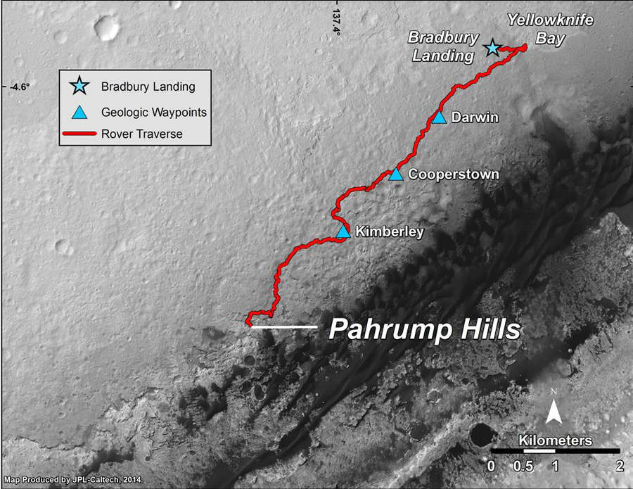 Mars-MSL-curiosity-rover-location-map-pahrump-hills-pia18607-br2