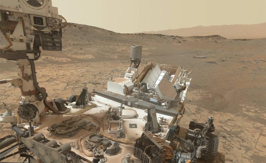 Разбор Марсианина: техника