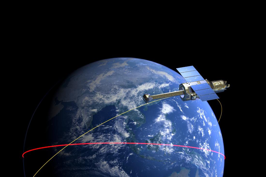 Японский рентгеновский телескоп взорвался на орбите