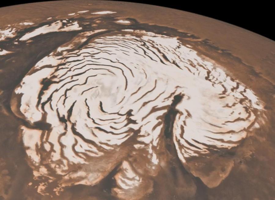 Mars North Ice Cap