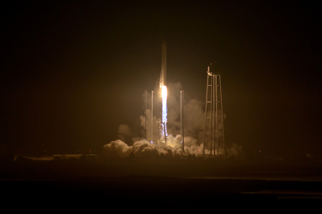 Успешный старт американской ракеты с российскими двигателями