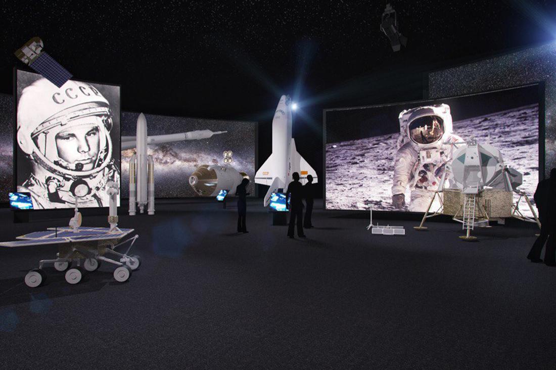 Космическая выставка, которой не было