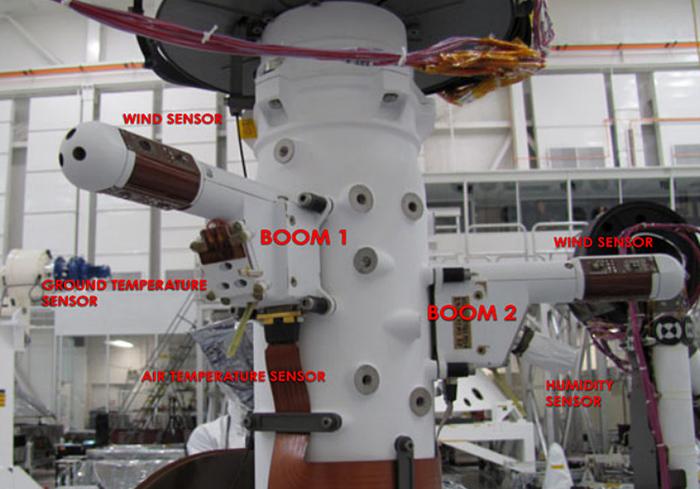 У марсохода Curiosity возникли проблемы со вторым датчиком ветра