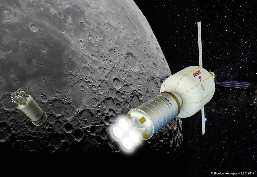 Новая лунная гонка
