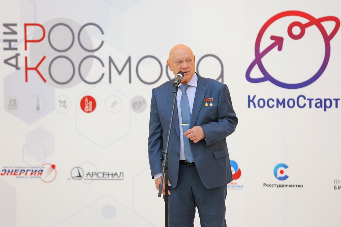 Интервью космонавта Владимира Джанибекова