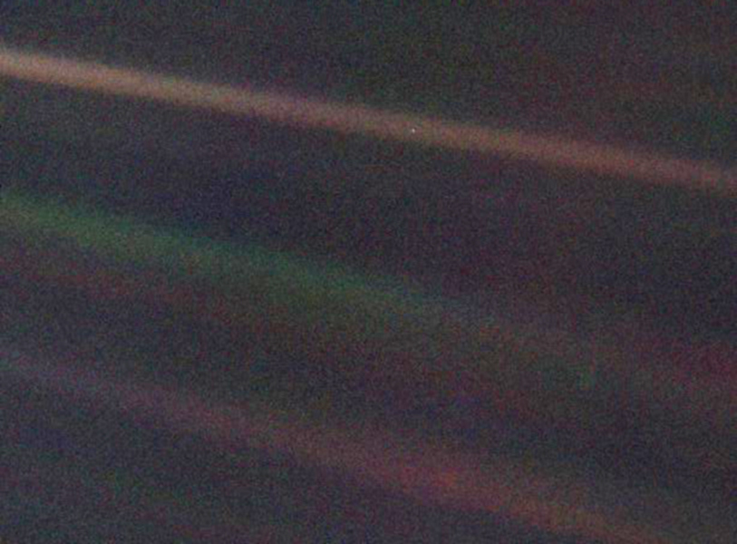 Voyager Pale Blue dot