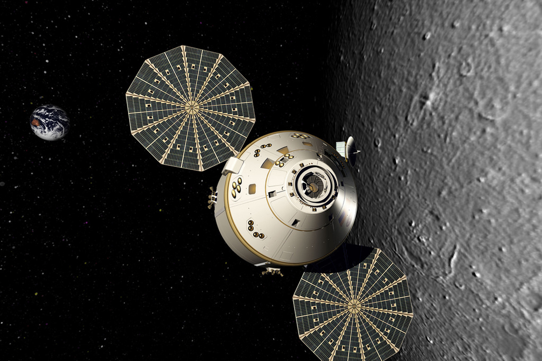 As America was returning to the moon station, Space, Orion, ship, Apollo, stage, Constellation, Shuttle, module, Altair, more, ship, space, lunar, Saturn, Earth, space, flight, man, space