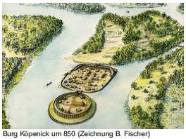 Городище Кёпеник ок. 850 г