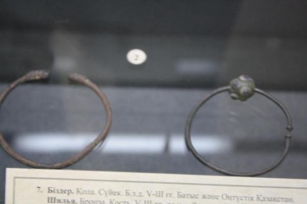 Височные кольца скифов