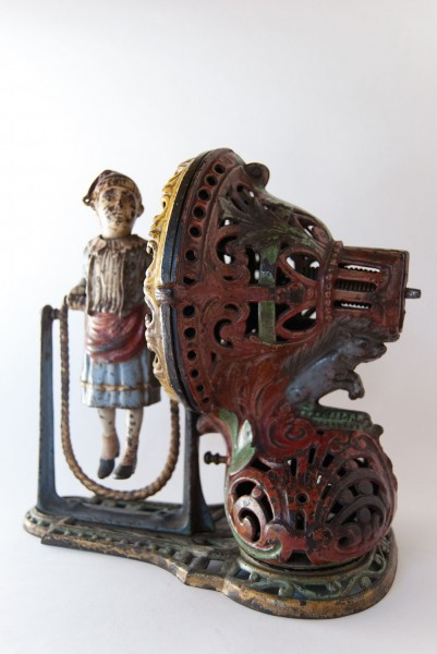 Original_Girl_Skipping_Rope_Mechanical_Bank_Antique_Cast_Iron_Toy_For_Sale_01