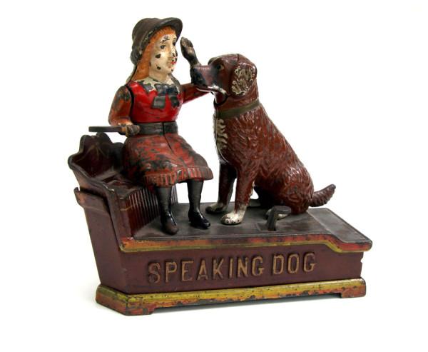 Antique_Mechanical_Bank_Speaking_Dog_19th_Century