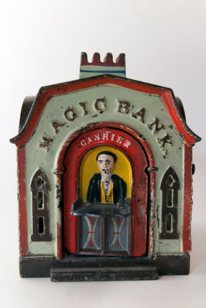 Magic_Bank_Original_Cast_Iron_Mechanical_Bank_For_Sale_01