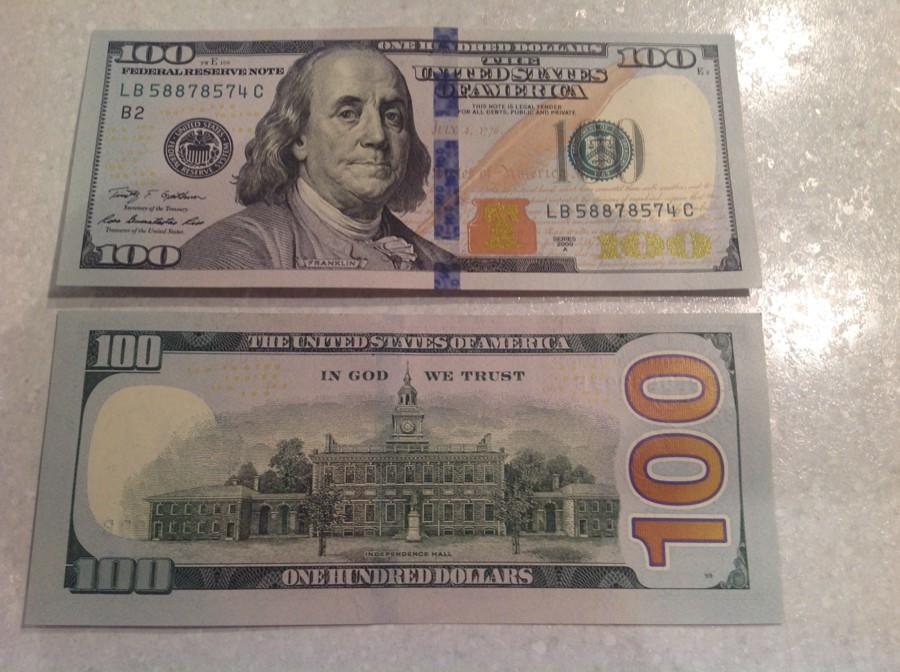 Новые долларовые купюры фото