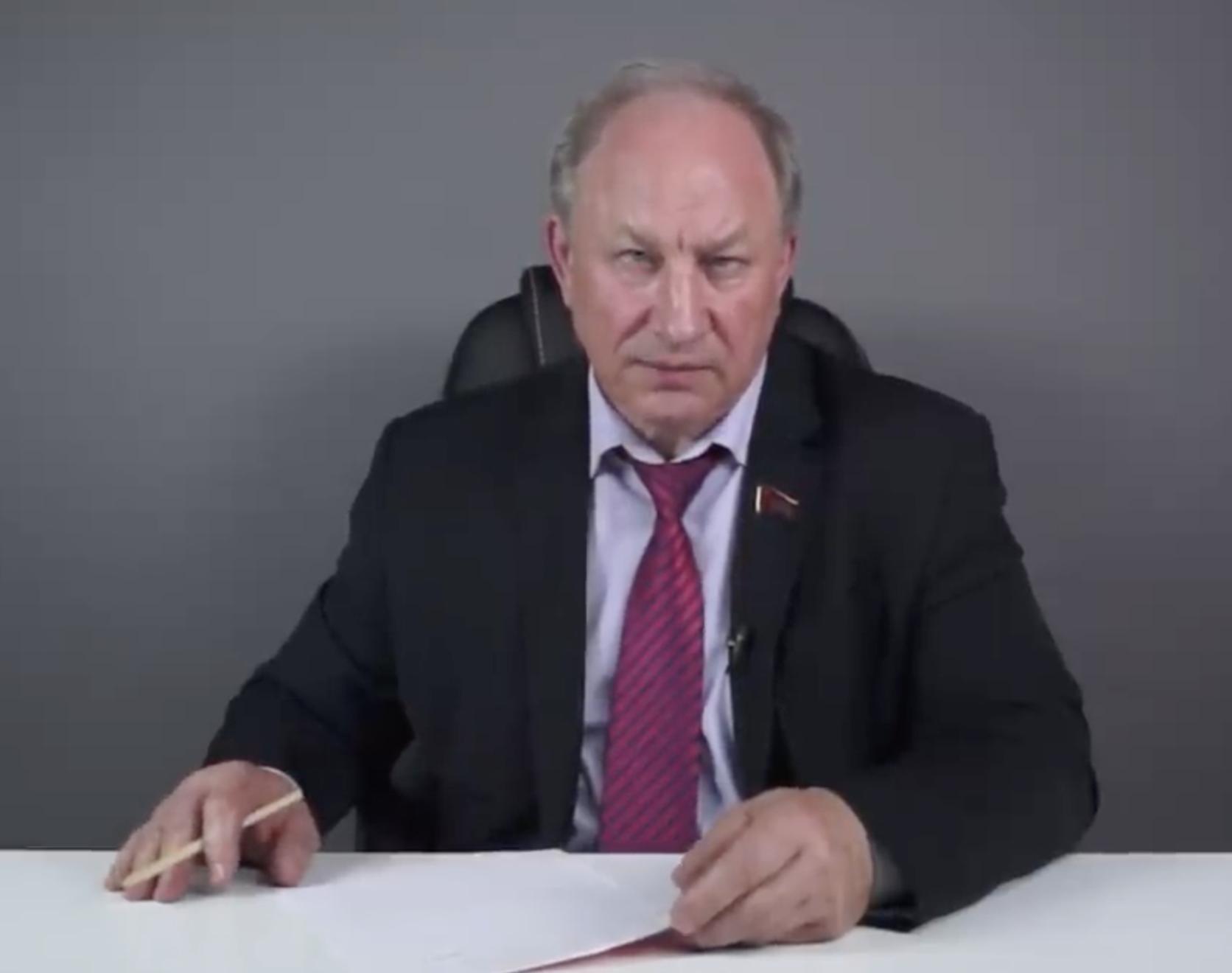 Депутат Госдумы и коммунист Рашкин окончательно поехал кукухой