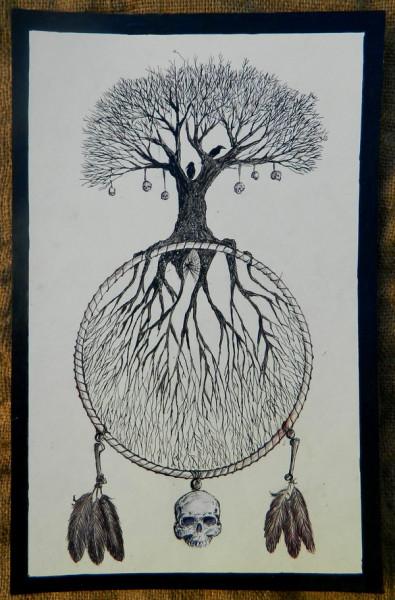 ловец снов мировое древо