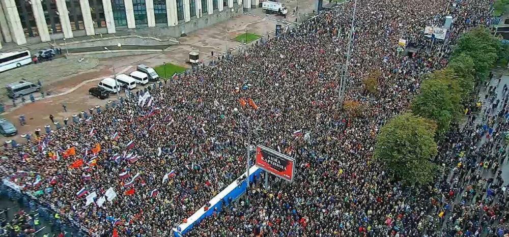 60 тысяч человек. Очень много